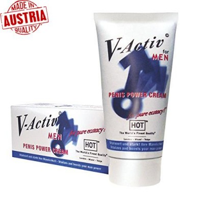 Hot V-Aktiv Penis Power Cream / C-1220