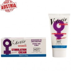 Hot V-Activ Stimulation Cream For Women / C-1232