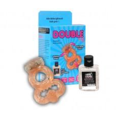 Double Ring Titreşimli Zevk Halkası / C-Y5009