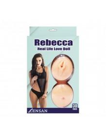 Censan Rebecca Gerçekçi Esmer Şişme Bebek