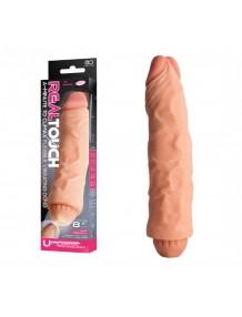 Real Touch Çift Katmanlı 21.5cm Vibratör