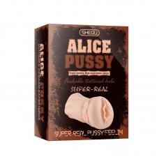 Alice Super Real Pussy Realistik Suni Vajina Mastürbatör / U6108